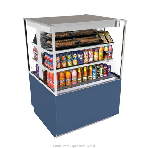 Structural Concepts NR3647RSSV2 Display Case, Refrigerated, Dual Serve