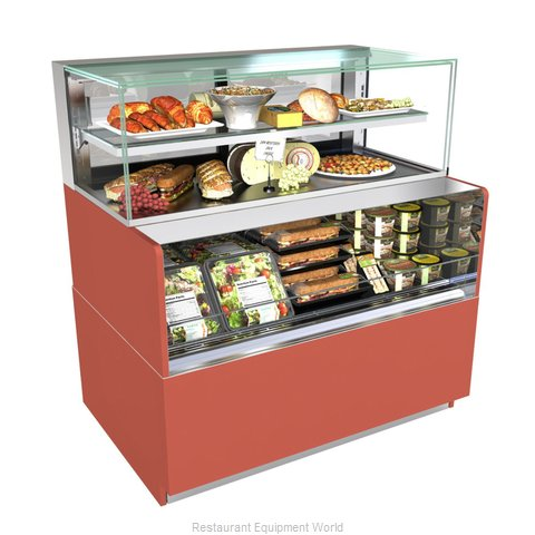 Structural Concepts NR6051RRSSV Display Case, Refrigerated/Non-Refrig