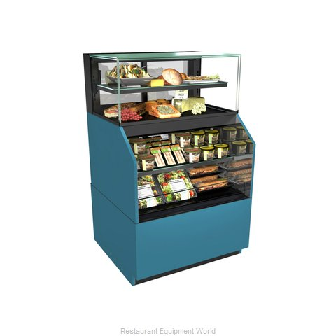 Structural Concepts NR6058RRSSV Display Case, Refrigerated/Non-Refrig