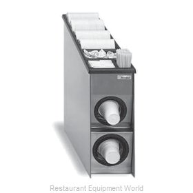 SerVend CD2A-C Cup Dispensers, Countertop