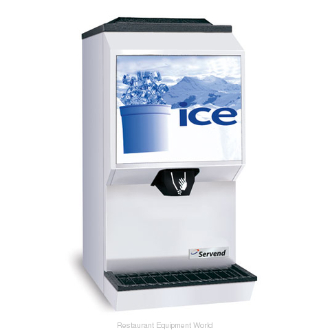SerVend M-90 Countertop Ice Dispenser (Magnified)