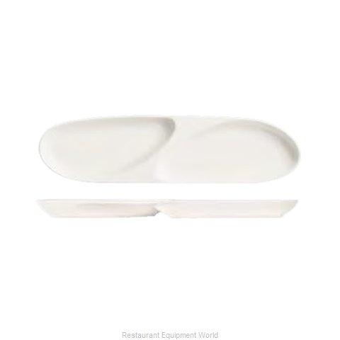Syracuse China 905356913 Plate/Platter, Compartment, China