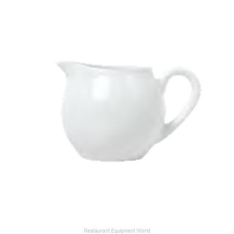 Syracuse China 911194034 Creamer / Pitcher, China (Magnified)