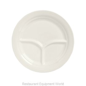 Syracuse China 950093763 Plate/Platter, Compartment, China