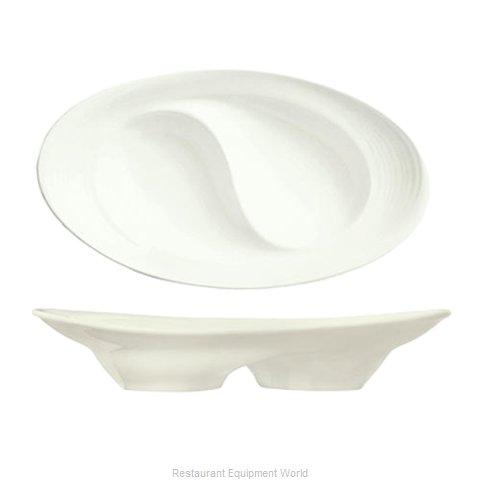 Syracuse China 987659358 China, Compartment Dish Bowl