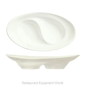 Syracuse China 987659358 China, Compartment Dish Bowl