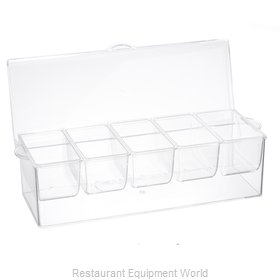 Tablecraft 10007 Bar Condiment Holder
