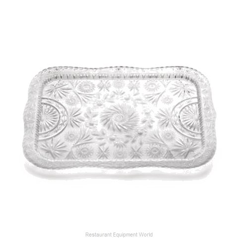 Tablecraft 1000C Tray Decorative (Magnified)