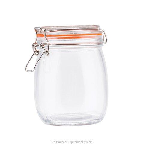 Tablecraft 10366 Storage Jar / Ingredient Canister, Glass