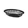 Tablecraft 1071BR Side Order Food Basket Oval Brown Sold By Dozen