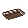 Tablecraft 1077BR Grande Platter Basket Rectangular Brown 12/pk