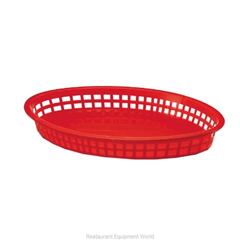 Tablecraft 1086R Basket, Fast Food (Magnified)