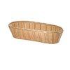Basket, Tabletop, Plastic <br><span class=fgrey12>(Tablecraft 1113W Basket, Tabletop)</span>