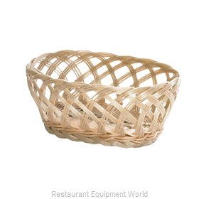 Tablecraft 1136W Bread Basket / Crate