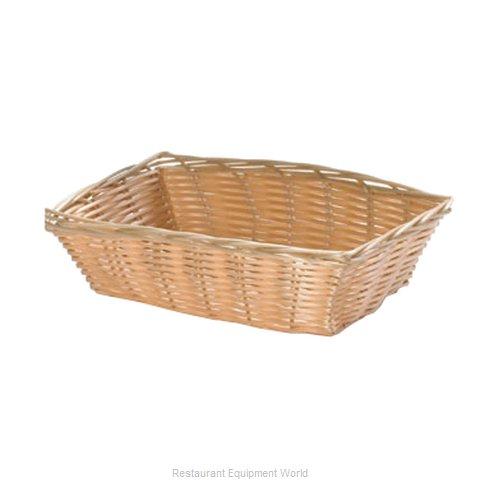 Tablecraft 1172W Bread Basket / Crate
