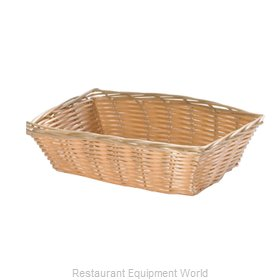 Tablecraft 1172W Bread Basket / Crate