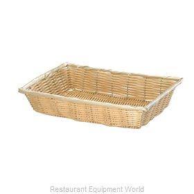 Tablecraft 1188W Bread Basket / Crate
