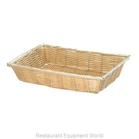 Tablecraft 1189W Bread Basket / Crate
