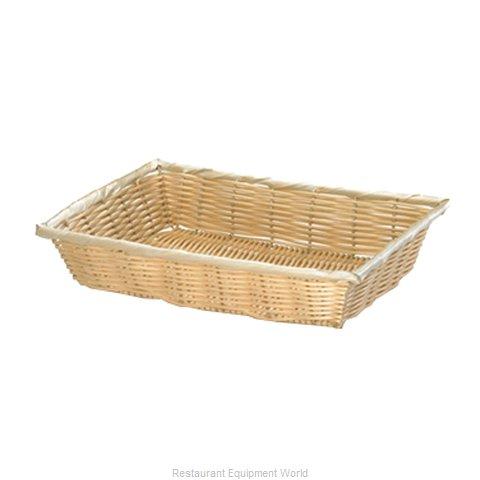 Tablecraft 1192W Bread Basket / Crate