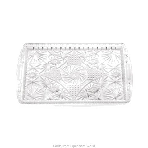 Tablecraft 1218C Tray Decorative (Magnified)