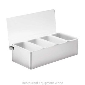 Tablecraft 1604 Bar Condiment Server, Countertop