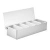 Organizador de Condimentos para Bar, para Encimera <br><span class=fgrey12>(Tablecraft 1605 Bar Condiment Server, Countertop)</span>
