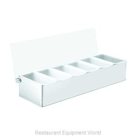 Tablecraft 1606 Bar Condiment Server, Countertop