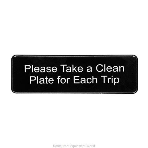 Tablecraft 394596 Sign, Compliance