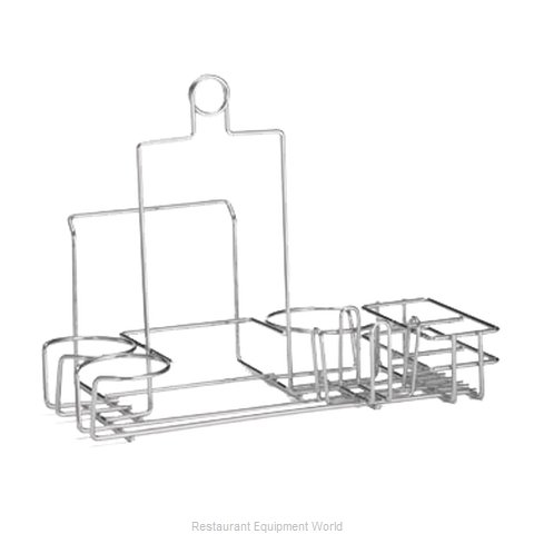 Tablecraft 5457112R Condiment Caddy, Rack Only