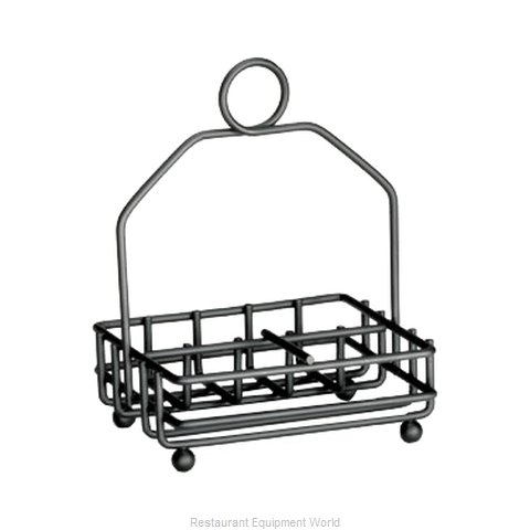 Tablecraft 593RBK Condiment Caddy, Rack Only