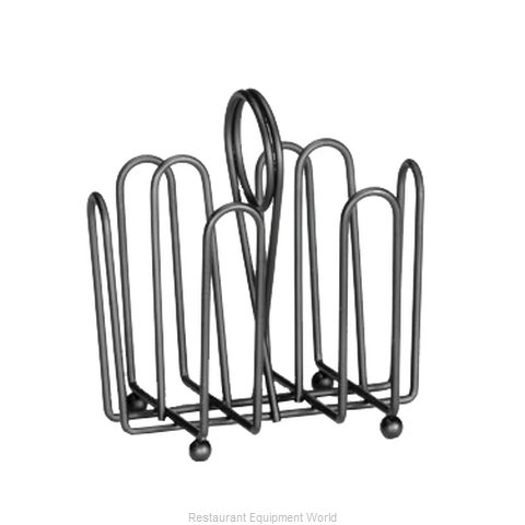 Tablecraft 597CBK Condiment Caddy, Rack Only (Magnified)