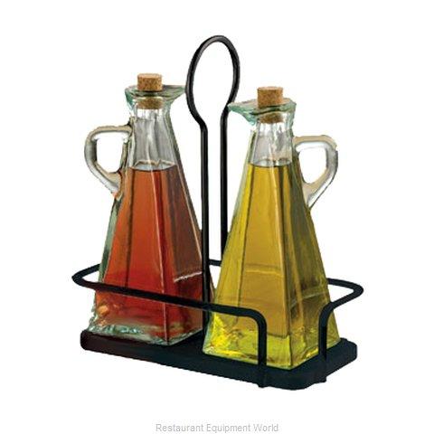 Tablecraft 617NBK Oil & Vinegar Cruet Set