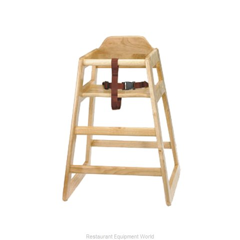 Tablecraft 65 High Chair, Wood (Magnified)
