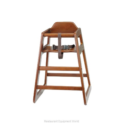 Tablecraft 66 High Chair, Wood (Magnified)