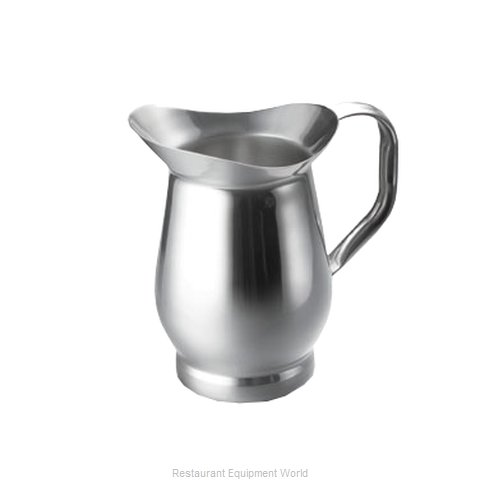 Tablecraft 802 Pitcher Server Stainless Steel (Magnified)