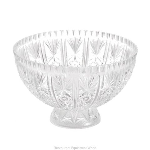 Tablecraft 998-1C Punch Bowl Plastic (Magnified)