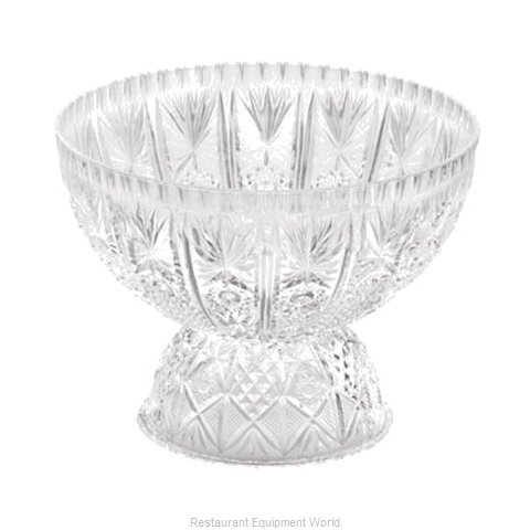 Tablecraft 998-2C Punch Bowl Plastic