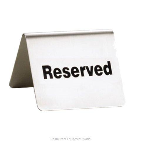 Tablecraft B9 Tabletop Sign, Tent / Card