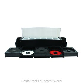 Tablecraft BCD1400 Bar Condiment Server, Countertop
