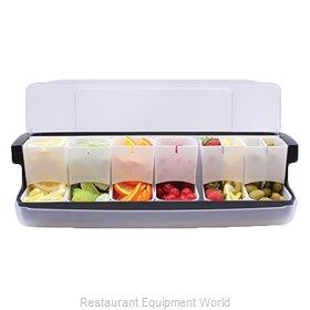 Tablecraft BCD6100 Bar Condiment Server, Countertop