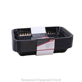 Tablecraft C1077BK Basket, Fast Food