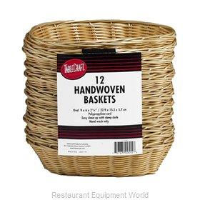 Tablecraft C1174W Bread Basket / Crate