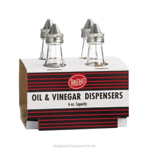 Tablecraft C600-4 Oil & Vinegar Cruet Bottle
