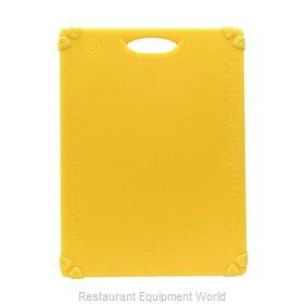 Tablecraft CBG1520AYL Cutting Board, Plastic