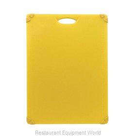Tablecraft CBG1824AYL Cutting Board, Plastic