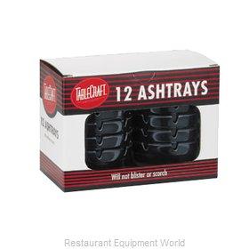 Tablecraft CST363B-1 Ash Tray, Plastic