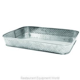 Tablecraft GPSS120 Platter, Stainless Steel