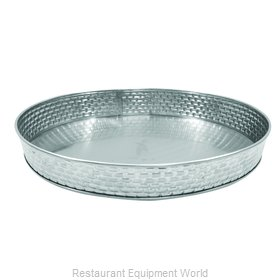 Tablecraft GPSS8 Platter, Stainless Steel