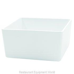 Tablecraft M4025WH Serving Bowl, Plastic
