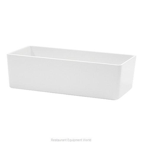 Tablecraft M4026WH Serving Bowl, Plastic